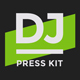 ProDJ - DJ Press Kit / Rider / Resume PSD Template - GraphicRiver Item for Sale