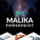 Malika Creative Powerpoint - GraphicRiver Item for Sale