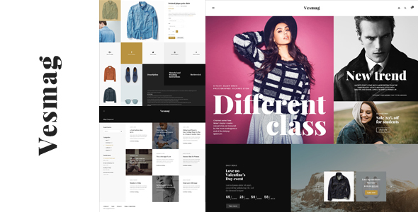 Vesmag – Responsive eCommerce PSD Template