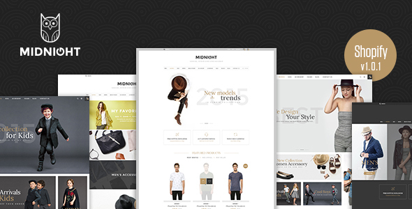 Midnight - Responsive Shopify Theme - Shopify eCommerce