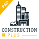 Construction Plus PSD Template - ThemeForest Item for Sale