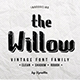 The Willow Typeface - GraphicRiver Item for Sale