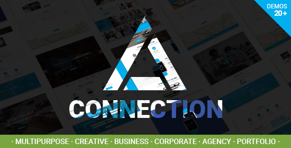 Connection – Multipurpose / Creative / Business / Corporate / Agency / Portfolio WordPress Theme