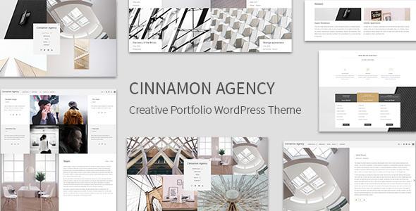 Cinnamon Agency - Creative Portfolio Theme - Portfolio Creative