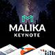 Malika Multipurpose Keynote - GraphicRiver Item for Sale