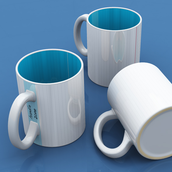 Easy Mug - 3DOcean Item for Sale