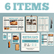Newspaper Style Menu Package - GraphicRiver Item for Sale