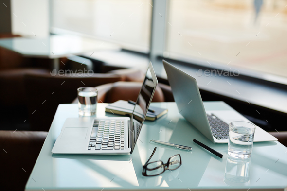 Empty workplace - Stock Photo - Images