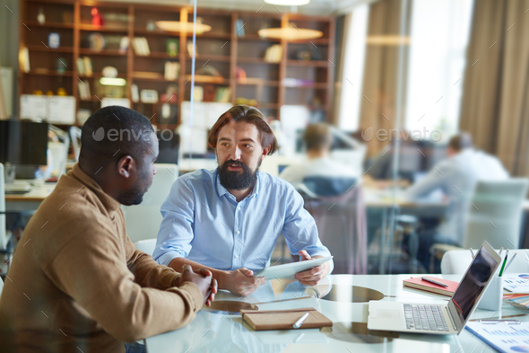 Meeting in office - Stock Photo - Images