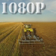 Flying over Wheat Field Harvester - VideoHive Item for Sale