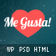 Me Gusta!  User-driven Content Sharing Theme Nulled