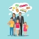 Family Dreams Illustration - GraphicRiver Item for Sale