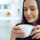 Elegant woman in a coffee break - PhotoDune Item for Sale