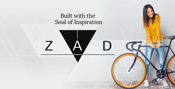 Zad   The Unique Multiuse Theme