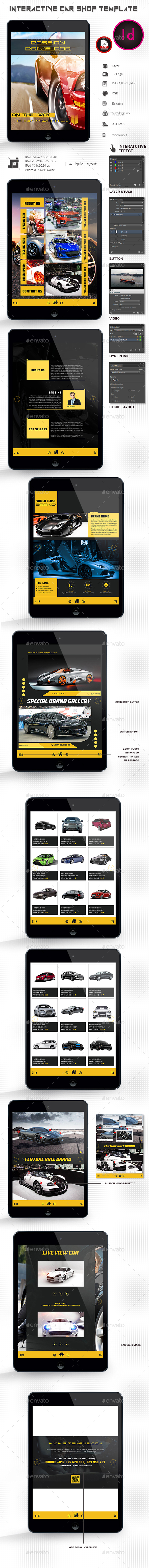 Interactive Car Template - ePublishing