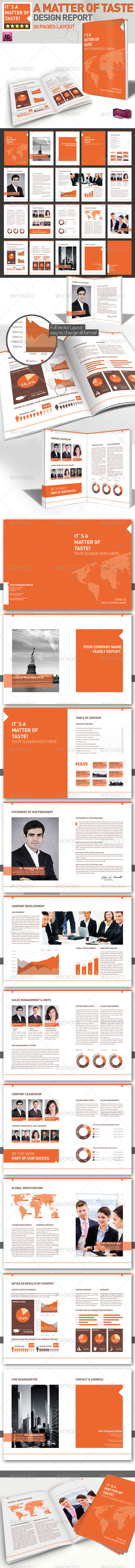 Professional Brochure // Magazine Template //A4 - Corporate Brochures