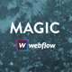 MAGIC - Strong Webflow Template - ThemeForest Item for Sale