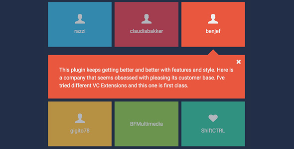WPBakery Page Builder (formerly Visual Composer) Add-on - Expand Grid - CodeCanyon Item for Sale