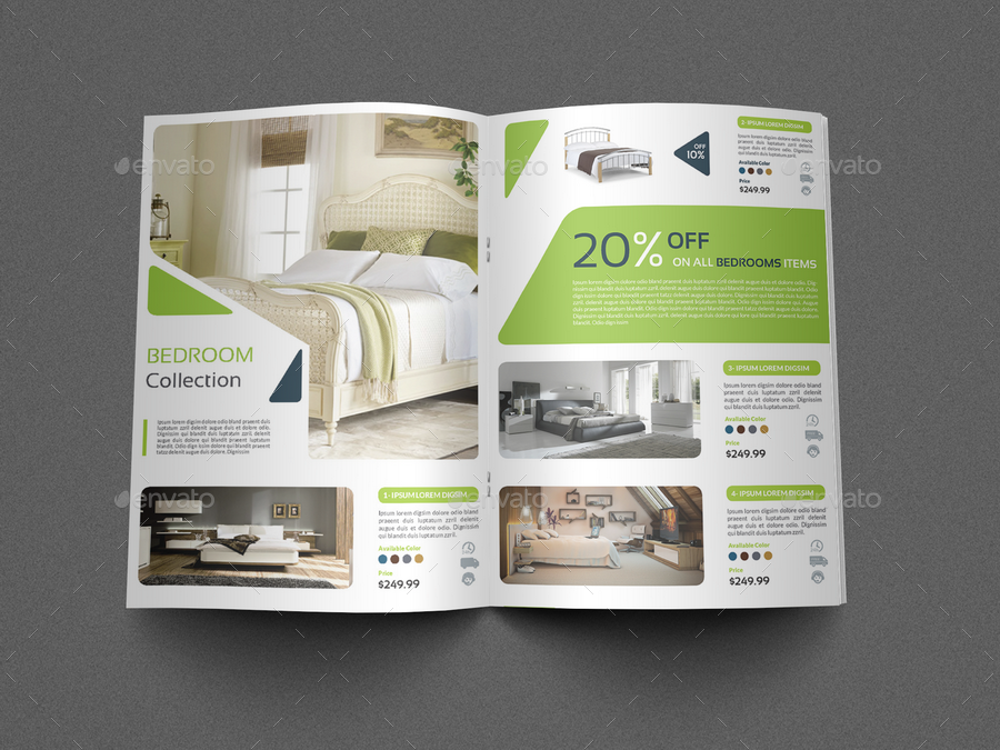 Products Catalogs Brochure Template Vol4 16 Pages By Owpictures