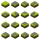 Assembled Isometric Road Intersection - GraphicRiver Item for Sale