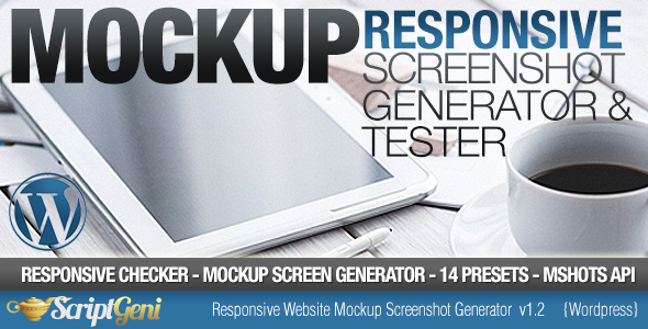 Responsive Website Tester & Mockup Screenshot Generator - CodeCanyon Item for Sale
