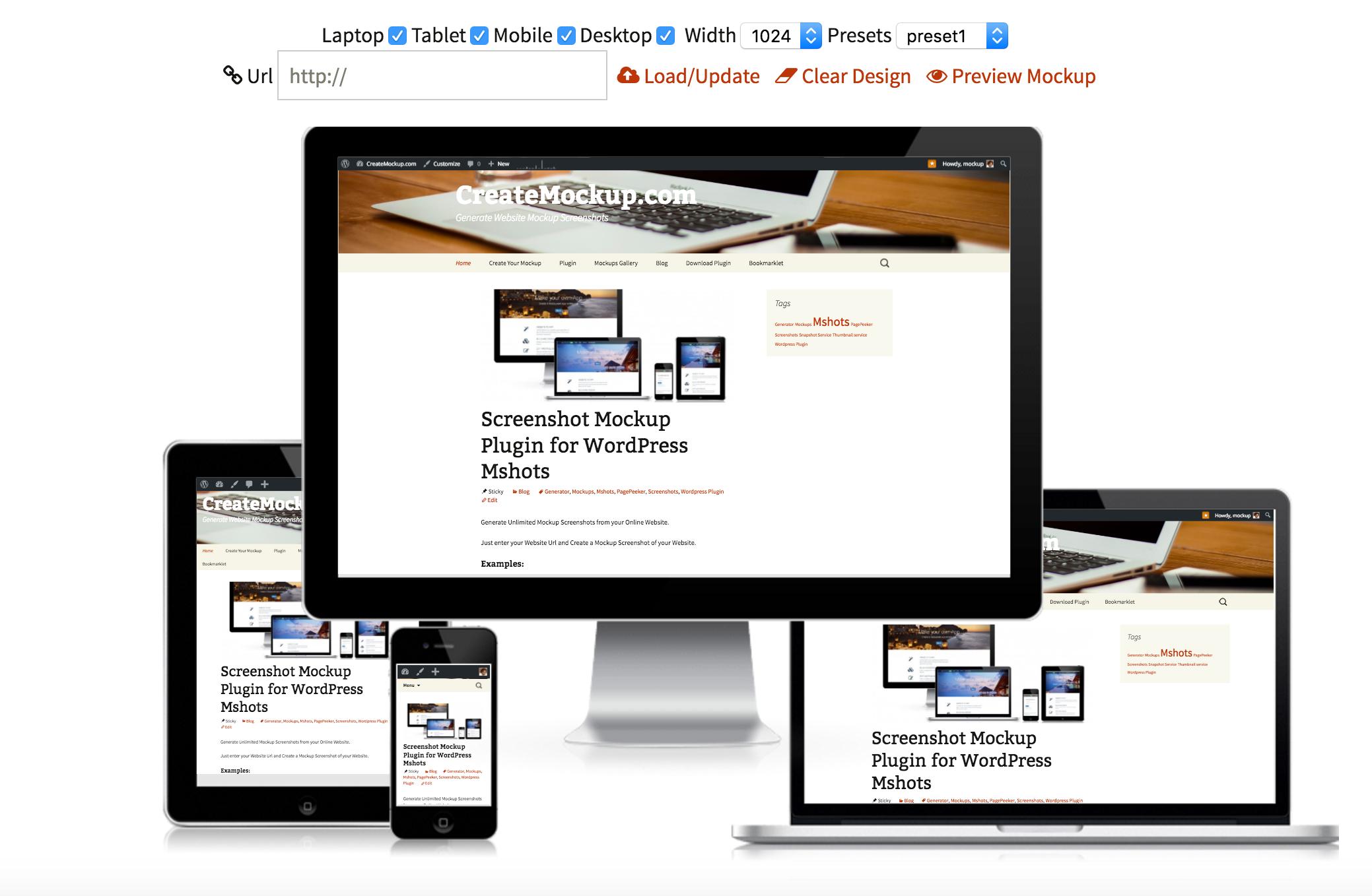 Responsive Website Tester & Mockup Screenshot Generator by vidal ...