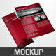 Realistic Bi Fold Brochure Mockup - GraphicRiver Item for Sale