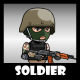 Soldier 42 Woodland Mercenary - GraphicRiver Item for Sale
