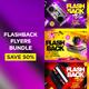 Flashback Flyers Bundle - GraphicRiver Item for Sale