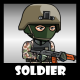 Soldier 43 Woodland Mercenary - GraphicRiver Item for Sale
