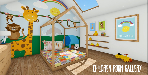 children room gallerypurplevisions | videohive
