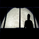 Astronaut Looks At Moon From Shuttle - VideoHive Item for Sale