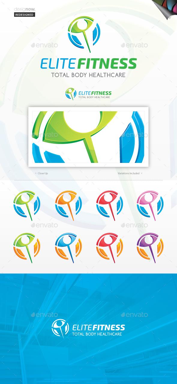 Perfect Fitness Logo - Symbols Logo Templates