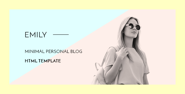 Emily – Personal Blog HTML Template