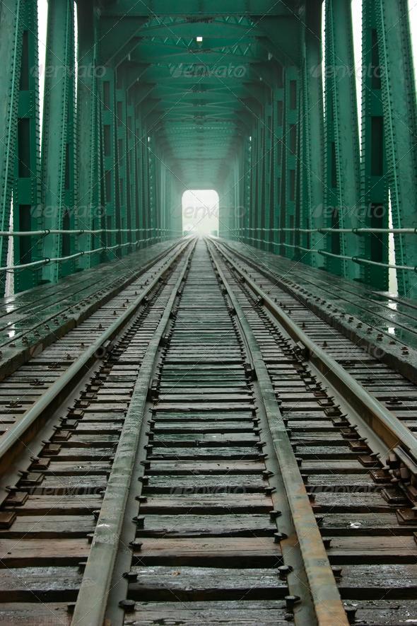 Railroad Bridge - Stock Photo - Images