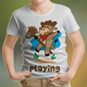 Cow Playing Kids T-Shirt - GraphicRiver Item for Sale