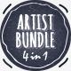 Pro Artist Bundle CS3+ - GraphicRiver Item for Sale
