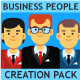 Business People Creation Pack - GraphicRiver Item for Sale