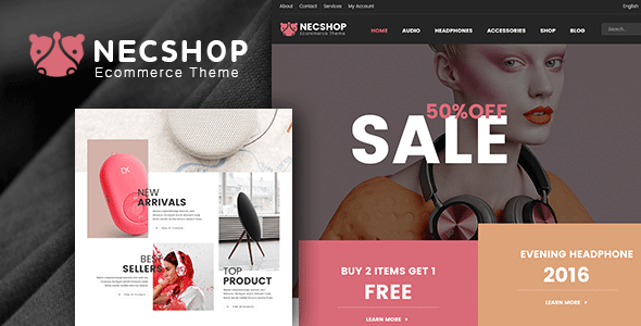 Nec Shop – Responsive Multipurpose WooCommerce Theme