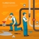 Inspection Of Pipeline Composition - GraphicRiver Item for Sale