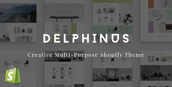 Delphinus – Creative Multi-Purpose Shopify Theme