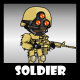 Soldier 45 Desert Spotter - GraphicRiver Item for Sale