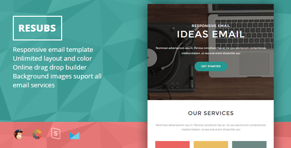 Resubs – Responsive Email + StampReady Builder