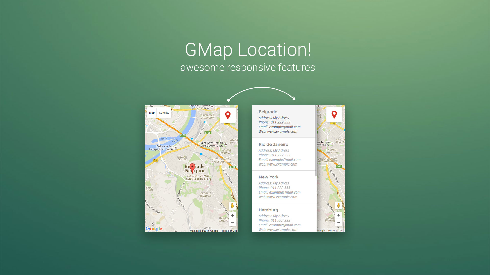 Gmap location joomla google maps module by kreativan codecanyon gmap location joomla google maps module baditri Images
