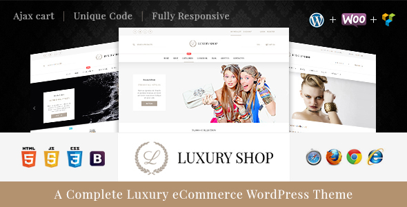 Luxury – WooCommerce WordPress Theme