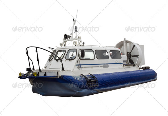 Hovercraft - Stock Photo - Images