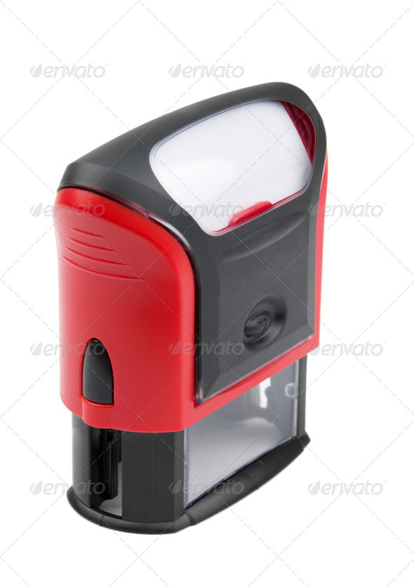 Rubber stamp - Stock Photo - Images