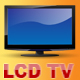Layered Widescreen LCD TV - GraphicRiver Item for Sale