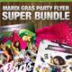 Mardi Gras Super Bundle - GraphicRiver Item for Sale