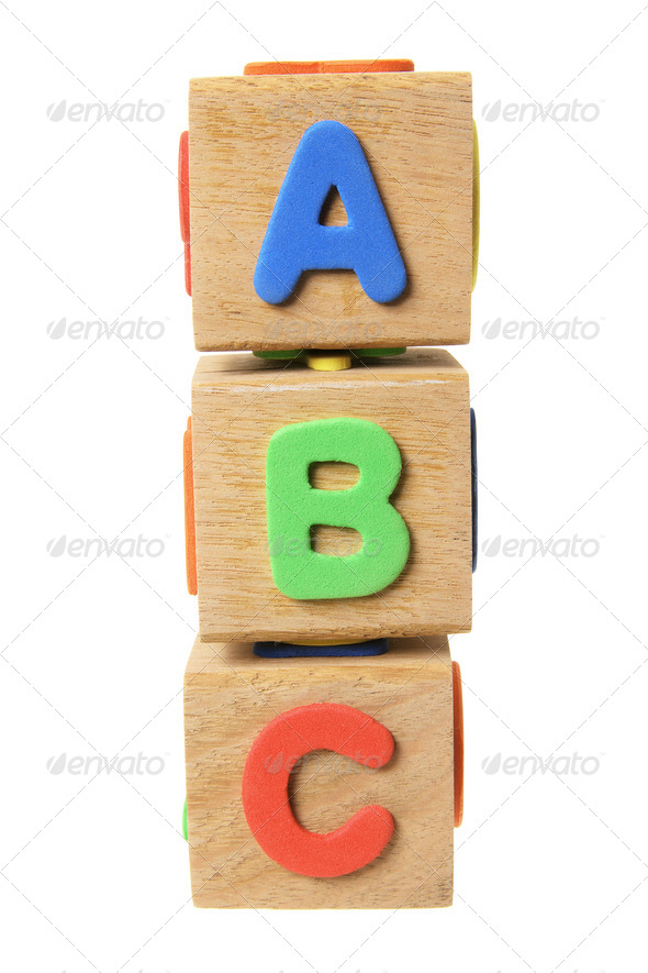 Alphabet Blocks - Stock Photo - Images